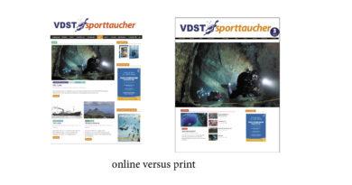 Umfrage: Sporttaucher Online & Print